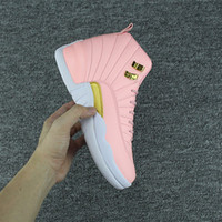 XII GS Pink Lemonade Womens Basketball shoes 12s Pink Lemona...