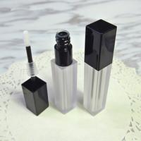 6 мл пустой блеск для губ трубки DIY пластиковые жидкие губная помада бутылка Comtainers для Леди девушка косметический макияж продукты 200 шт. / лот