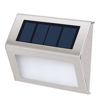 Solar LED courtyard outdoor small wall lamp lawn light polyc...