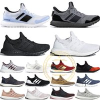 Game Of Thrones Ultra Boost 2019 Targaryen Dragons Lannister Stark White Walkers Hombres Mujeres UB 4.0 Triple Negro Blanco zapatillas 36-45