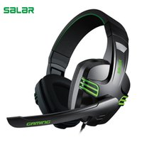 KX101 Headphones gaming headset Wired PC Stereo Earphones wi...