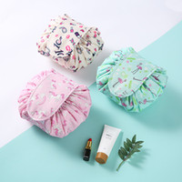 Women Cosmetic Bags Travel Magic Pouch Drawstring Organizer ...