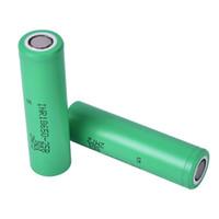 Alta calidad 25R 30Q VTC4 VTC5 VTC6 HE2 HE4 HG2 18650 batería INR batería 2500 mAh 3,7 V 20A recargable de litio para E Cig caja Mod fj752
