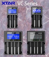 XTAR 2 2 plus 4 2 VC4S battery charger for 10440/16340/14500/14650/18350/18500/18650/18700/21700/20700/17500