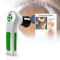 2019 Nuovo arrivo !!! digitale Iriscope iridologia macchina di prova occhio della telecamera professionale 12.0MP iris scanner analizzatore CE / DHL libera il trasporto