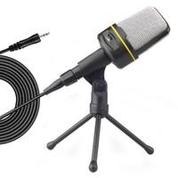 Multimedya Mikrofon Bilgisayar Stent Tuning Kondansatör Mikrofon Çapa Şarkıcı Perakende Kutusu
