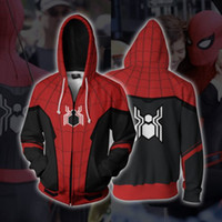 2019 Free Shipping Spiderman Cosplay 3D Printing Loose Men&#...
