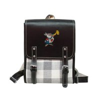 Alice in Wonderland Casual Vintage Backpack Mini British Sty...