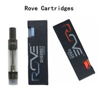 ROVE Vape Cartridge Packaging Pyrex Glass Thick Oil Vape Car...