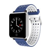 M19 Smart-Armband Fitness Tracker Smart Watch Blut-Sauerstoff-Blutdruck-Puls-Monitor-wasserdichte intelligente Armbanduhr für iPhone und Android