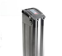 Tubo do assento recarregável peixe De Prata ebike bateria 48 v 10Ah tu 20AH baterias de lítio para 250 W a 1000 W motor com Carregador Frete grátis