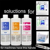 2020 Fábrica de atacado 400ml direta do Aqua Peel Solution por garrafa Hydra dermoabrasão Limpeza Facial Blackhead Export líquido Repair