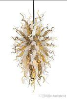 100% лампы ручной работы ручной работы светильники с светодиодным источником света Home Decor Modern Art Deco Индивидуальные итальянские люстры для продажи