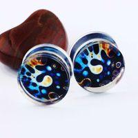 Unisex earlets corpo Medidor de Moda jóias Expander Plugs and Ear Tunnels alta qualidade plug Drop Shipping