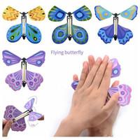 Kinder Zauberrequisiten Fliegen Schmetterling ändern mit leeren Händen Freiheit Schmetterling Zauberrequisiten Zaubertricks neue exotische freies Verschiffen