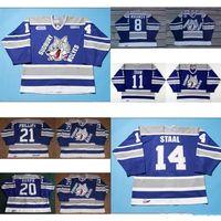 Personalizar OHL Sudbury Wolves Jersey 8 Mikhnov 21 Ryan Philips 20 Adam  Keefe 11 Jeff Shaw cbc9d4749