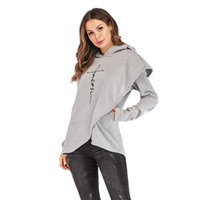 Sweats à capuche automne Femmes Sweat à manches longues Vêtements Broderie chaud pull avec capuche Tops Sweat-shirt Casual Plus Size à capuche en laine