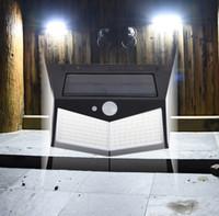 212 LED Jardim Luz Solar Lights Outdoor Lâmpada Solar Movimento Lamp Sensor alimentado luz solar impermeável Pátio Porch Poste