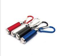 المحمولة تسلق مصغرة مصباح يدوي سلسلة المفاتيح سبائك الألومنيوم الشعلة مشاعل في الهواء الطلق في حالات الطوارئ سلسلة مفتاح مصباح يدوي تكبير ضوء الشعلة
