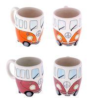 Керамическая кружка в форме кружки Camper Van Mug сундук с кружкой подарки для детей фарфоровые чашки для кофе Рождественский подарок счастливая чашка