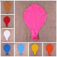36 pouces énorme Big ballon coloré géant 90cm ballon hélium mariage Parti Valentine Deroration ronde YSY180-L