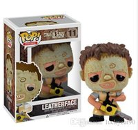 Funko pop Leatherface # 11 Chainsaw Massacre Texas Films d'horreur Figurine avec boîte d'origine Grande Qualité