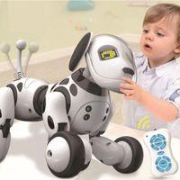 9007A Akıllı Robot Köpek 2.4g Kablosuz Uzaktan Kumanda Çocuk Oyuncak Akıllı Konuşan Robot Köpek Oyuncak Elektronik Pet Doğum Günü Hediyesi