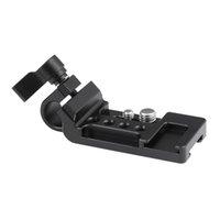 """15mm Tek Çubuk Kelepçe Çift taraflı Ayakkabı Mounts 1/4"""" ile HDRIG yönlü Uzatma Plaka 3/8"""" Dağı Studs Kamera Aksesuarları T200620 için"""