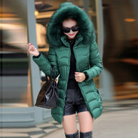 Womens Parka Casual Outwear Autumn Winter Hooded Coat Jacket...