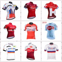 New Arrival. 2019 KATUSHA team Cycling Short Sleeves jersey men s Bicycle  ... f15b6c9a4