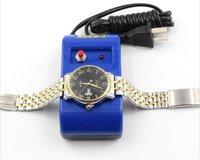 Meilleur Promotion Montre Outils Tournevis Et Pince À Épiler Demagnetizer Demagnetize Outil De Réparation Kit Pour Horloger Glitter2008