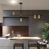 Современный точечный подвесной свет для обеденной комнаты бар / магазин светодиодный подвесной лампа Современное подвесное освещение светильника крытый люстры