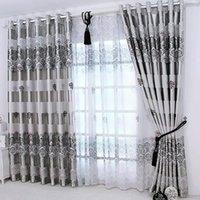 1pc 2019 las nuevas cortinas para Windows cortinas europea moderna elegante Shade Noble impresión de cortina para la sala de estar dormitorio la decoración del hogar