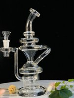 Hot recycler glass bong glass smoking pipe glass water pipe ...