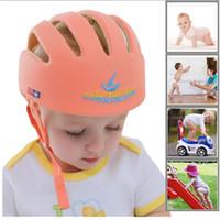 Baby hatt hjälm säkerhet skyddande barn lär sig att gå anti kollision panama barn spädbarn skyddslock
