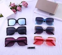 الفاخرة عالية الجودة الكلاسيكية الطيار النظارات الشمسية العلامة التجارية الرجال المرأة نظارات الشمس توم نظارات الذهب معدن العدسات الزجاجية حقيبة القضية الأصلية # 2911