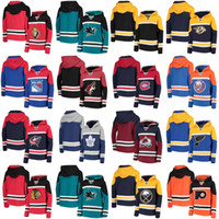 Chicago Blackhawks Hoodies Trikots Neue Anaheim Enten Toronto Ahornblätter Nashville Raubtiere Montreal Canadiens Vancouver Canucks
