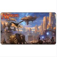 Magic Board Game Playmat: The Art of Mtg Kaladesh 2.60 * 35cm Size Table Mat Mousepad Play MatAlara Reborn Drastic Revelation