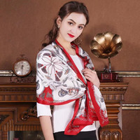 women girls 100% Real Mulberry SILK satin SCARF wrap shawl s...