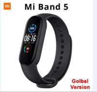 "Mi originale Xiaomi Band 5 Bracelet intelligent mondial Version 1.1"" AMOLED écran de fréquence cardiaque Fitness Tracker Bluetooth 5.0 Miband5 étanche"