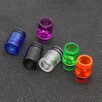 eGo AIO e cigs Şeker Paketi için Renkli 510 Plastik Damla İpuçları 6 Renkler Spiral Damla İpucu Ağızlıklar