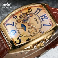 en' s Watches Mechanical Wristwatches SEWOR Tourbillon A...