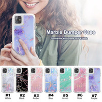 2 in 1 Laser Marble Phone Case For Iphone 11 PRO MAX XR X 6 ...