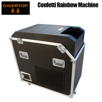 Gigertop Power Confetti Blaster Flight Case Packing High Speed Fan Blower No Need Gas Tank Supply High Distance Paper Jet