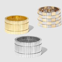 Flatfoosie trambusto braccialetto braccialetto per donna e uomini color oro smalto piastrelle impilabili stile stradali boho bracciali boho gioielli