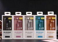 소매와 elmcoei EV122 EV117 EV110 EV121 EV113 이어폰 스포츠 마이크 헤드폰 이어폰 스테레오 헤드셋 슈퍼베이스 휴대 전화 이어폰