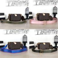 bolsos de la marca MULTI POCHETTE ACCESSOIRES 2019 nuevas mujeres de la manera de la cadena pequeña bolsa de hombro de la marca de lujo de los bolsos del diseñador del bolso de Crossbody de monederos