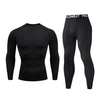 FUTUREOX ضغط الرجال الملابس الرياضية التجفيف سريعة مجموعة MMA بلون O-الرقبة التدريب تي شيرت رياضي مجموعة اللياقة البدنية