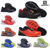 082de516b69d Salomon Speed Cross 3 CS Trail Running Shoes Women Pink Blue ...