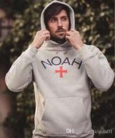 NOAH Hoodies Men Autumn New Casual Hoodie Hip Hop Loose Hood...